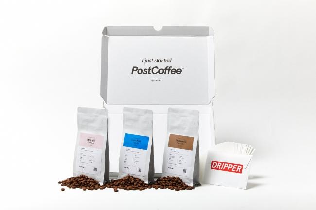 診断によってカスタマイズされたコーヒーボックスが購入できる