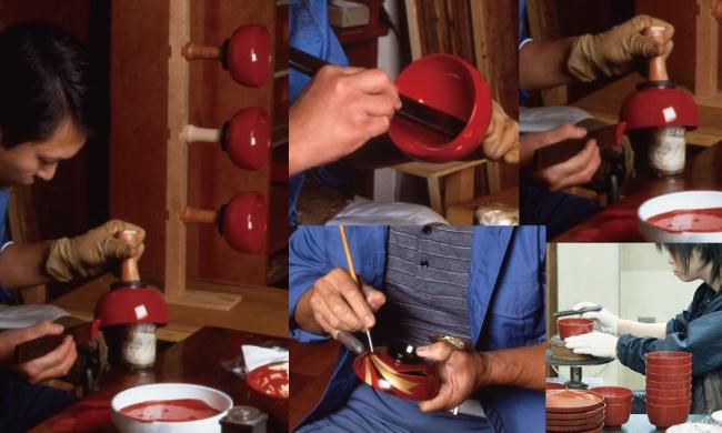 熟練の匠の確かな手仕事