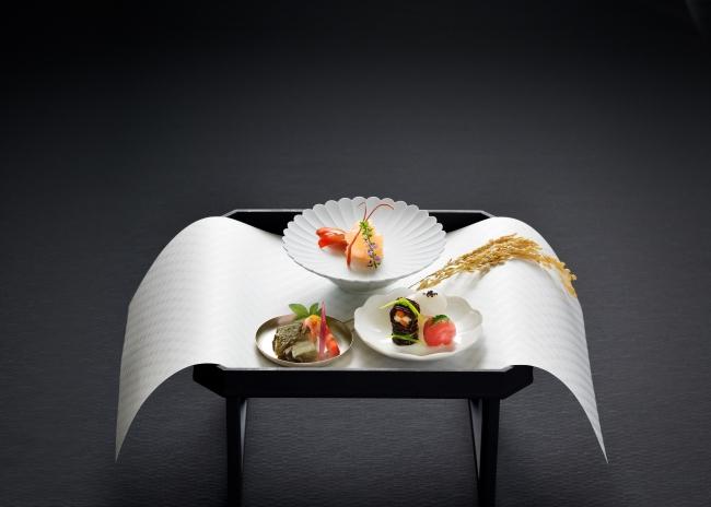 前菜で提供をする「神饌」を模した料理(イメージ)