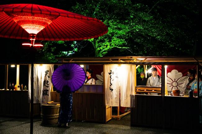 江戸の屋台に舌鼓 2020 SUMMER EDO WORLD CINEMA