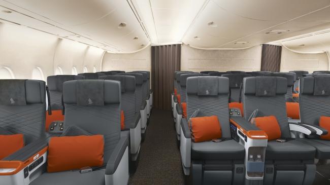 A380R プレミアムエコノミークラス