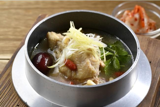釜炊き参鶏湯風雑炊