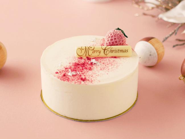 ストロベリーアイスクリームケーキ