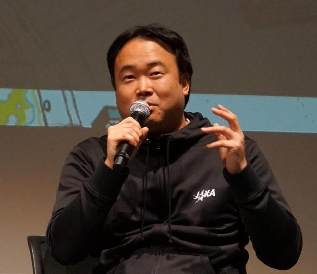 上村俊作(JAXA)・日本橋にて民間企業等と宇宙ビジネスを共創するJ-SPARCプログラムを推進