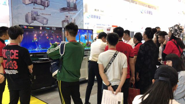 中国国内展示会の様子
