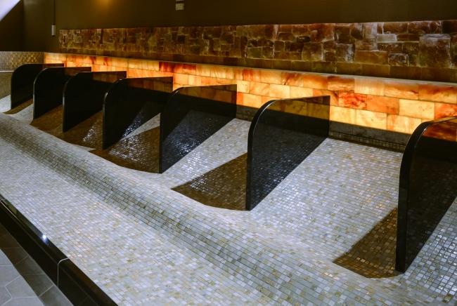 岩盤浴「温熱房」イメージ2  ※つくば温泉画像を使用しています。