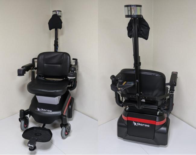 自動走行モビリティロボット「ガルー」