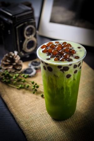 宇治抹茶タピオカミルク