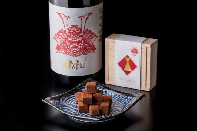 赤武生チョコレート 16粒入り 1,944円(税込)