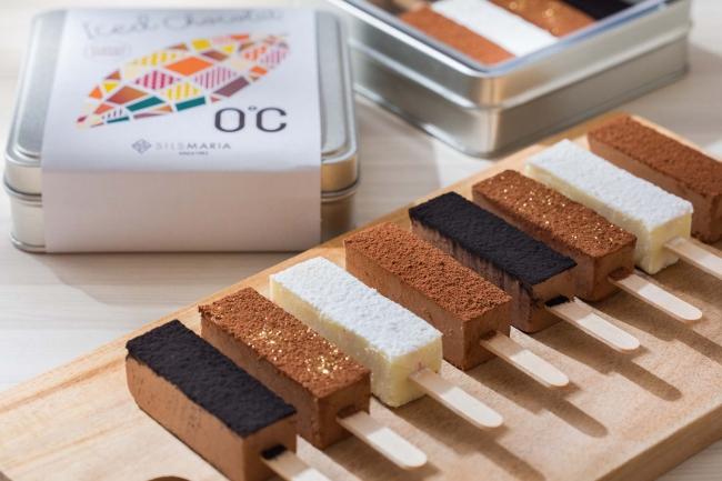 Ice d Chocolat 「0℃」 classic assort - アイス ド ショコラ「0℃」 クラシックアソート - シルスミルク・スノーベリー・シルスビター・アールグレイ  1,080円(税込)