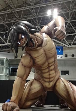 キャラクター特大フィギュアが登場 (画像は別会場開催時のイメージ)