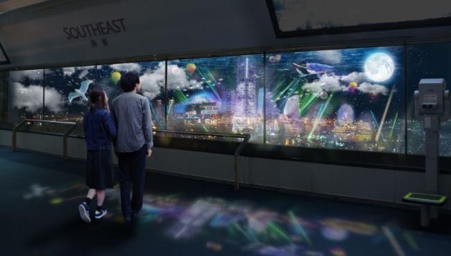 「CITY LIGHT FANTASIA BY NAKED -NEW WORLD-」(イメージ)