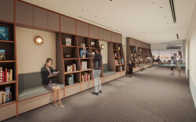 横浜・空の図書室イメージ