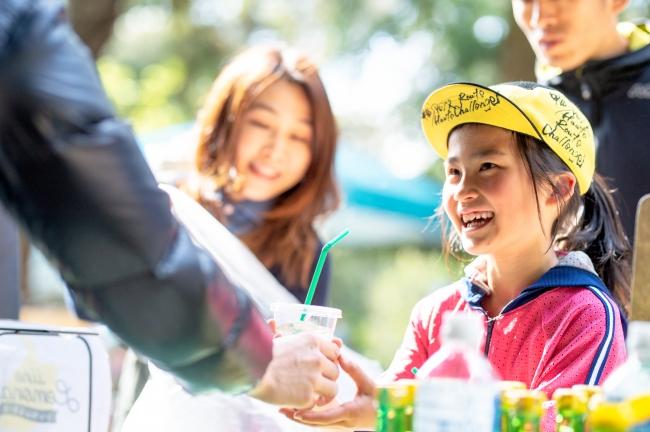 弊社による2019年4月神奈川県逗子でのレモネード販売実施風景