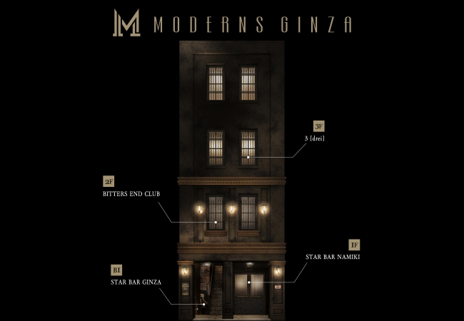 MODERNS GINZA Floor Guide