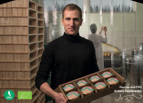 Nordic Food Products代表取締役Antero Nesterenko コメント「この度は、先祖代々伝わる純粋な自然と深い知識を初めて日本の方々にお伝えすることができ、とても光栄です。この機会を可能にしてくれた、全ての人々に感謝いたします。」