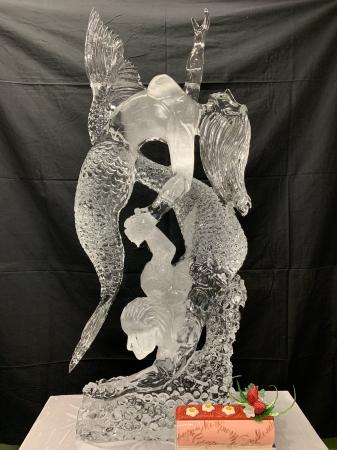 氷の彫刻イメージ