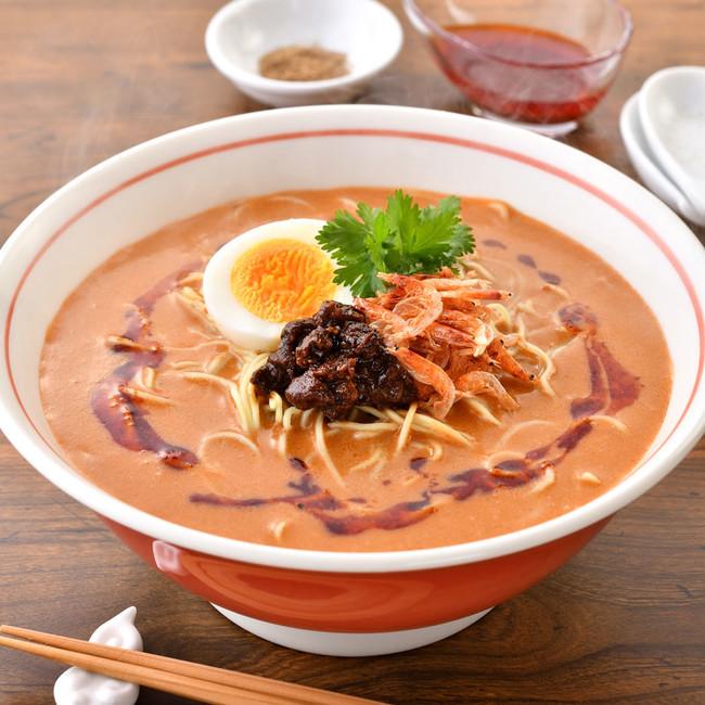 マルシェ限定 「ラーメン凪」の海老担々麺