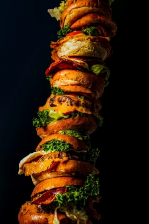 goku burger tower burger