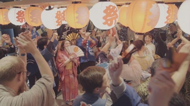 世界初!日本全国の「盆踊り」が楽しめる「盆踊り居酒屋」です♫