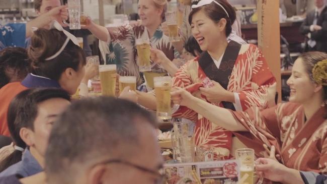 人気の日本食と飲み放題で乾杯!!