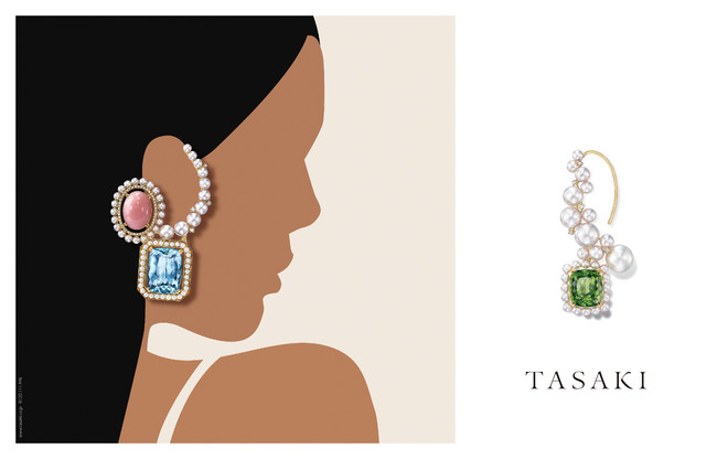 TASAKI Atelier line/ Ore with Illustration by Kathy Kim (C)TASAKI