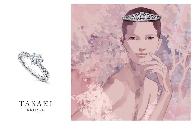 TASAKIブライダルフェア キービジュアル(TASAKI Bridal 新広告ビジュアル by Sarah Singh )(C)TASAKI