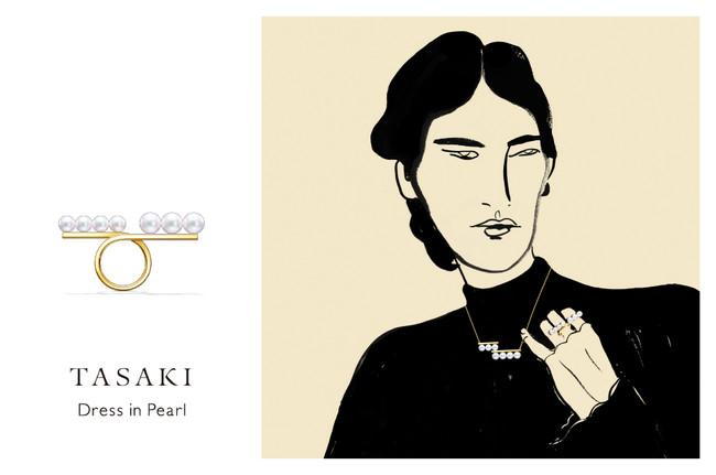 「Dress in Pearl」 イベント キービジュアル (C)TASAKI