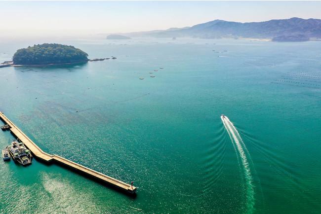 志津川湾の島々を眺めながらクルーズ