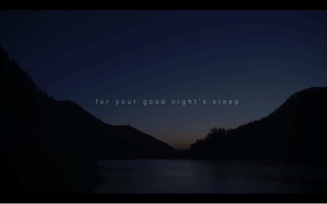 サウンドデザイナー日山豪による睡眠のためのサウンド×映像