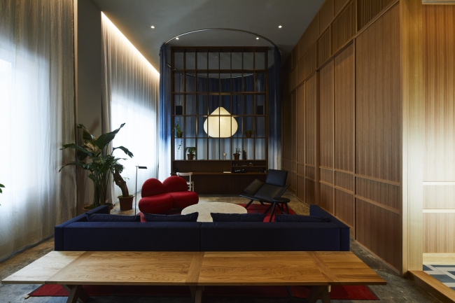HOTEL K5 のスイートルームとなる客室「K5 LOFT」