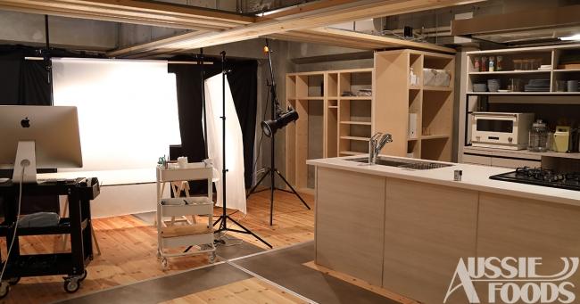 料理撮影専門のスタジオとしてオージーフーズの第二拠点が西新宿にオープン!