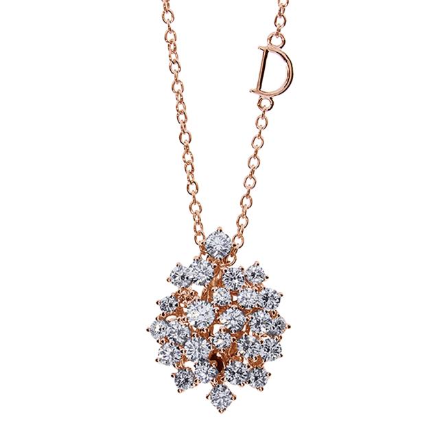 ピンクゴールド、ダイヤモンド1.07ct ¥505,000 (税抜き)