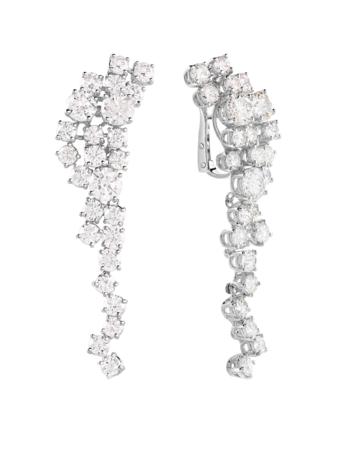 ピアス:ホワイトゴールド、ダイヤモンド11.44ct ¥9,500,000(税抜)
