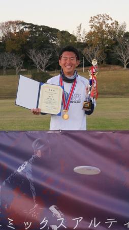 MVP賞:岡野 理樹選手(スロースフォース)