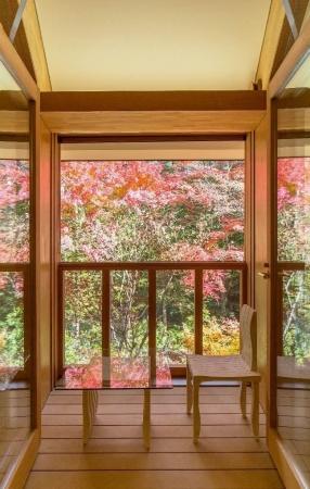客室のバルコニーからの眺望(写真: 平井 広行)