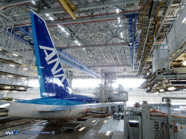 画像-ANA機体工場