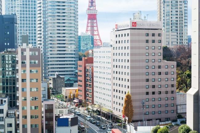 新橋愛宕山東急REIホテル 外観