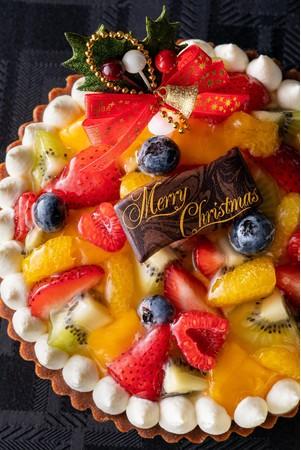 クリスマス フルーツタルト