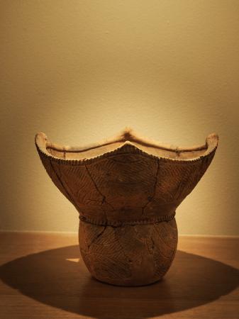 縄文土器も展示