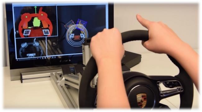 3Dジェスチャーユーザーインターフェース