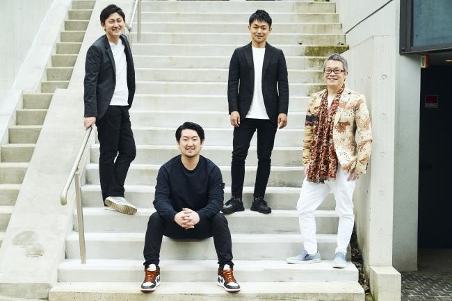 左から執行役員CFO船橋、代表取締役CEO野口、社外取締役山口、取締役CSO吉弘