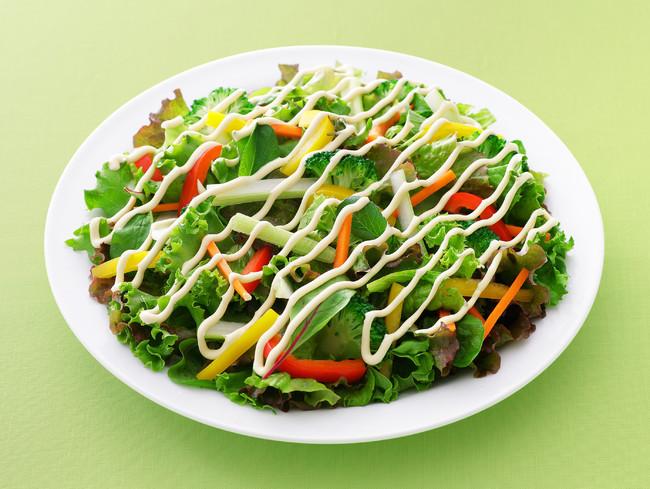 パプリカとブロッコリーのグリーンサラダ