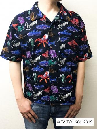 ダライアス 総柄ワークシャツ(designed by NC帝國):¥15,000+tax