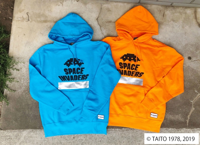 SPACE INVADERS UFOパーカー(designed by RESHAZAM)¥8,000+tax