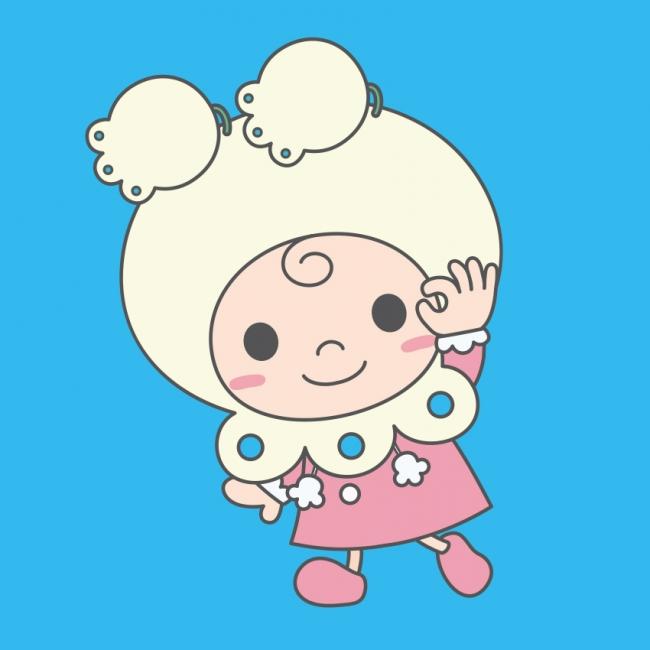 神戸元町1番街のマスコットキャラクター「もとずきんちゃん」