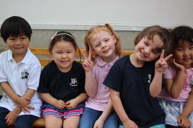 多様な生徒が共に学ぶ東京ウエストインターナショナルスクールの幼稚部