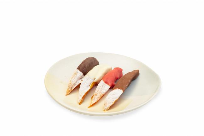 チョコレートは4種類