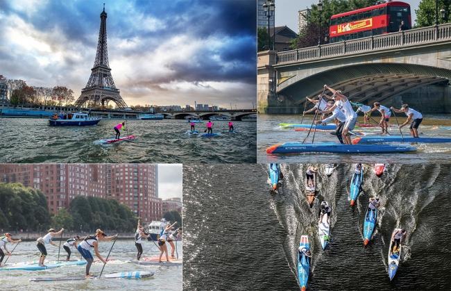 左上:パリ大会(2018)・右上:ロンドン大会(2018) 写真APP WORLD TOUR提供