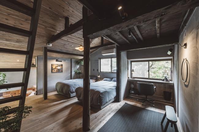 お部屋は4室。いずれもレイアウトが異なり、2つとない空間になっています。